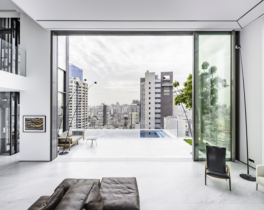 Sliding Minimalist Window | Vitrocsa project in Beyrouth - Liban