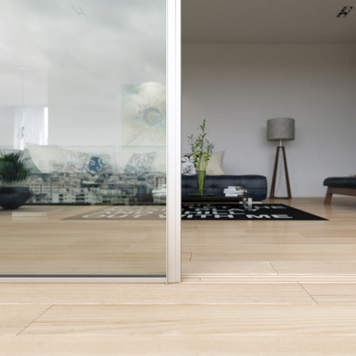 Sliding Minimalist Window: Invisible Frame Application | Vitrocsa