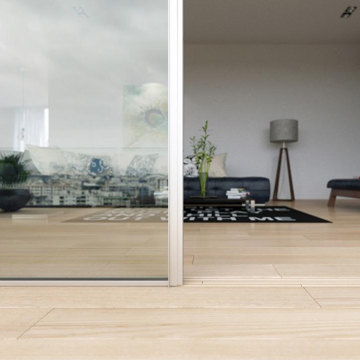 Sliding Minimalist Window: Invisible Frame Application | Vitrocsa