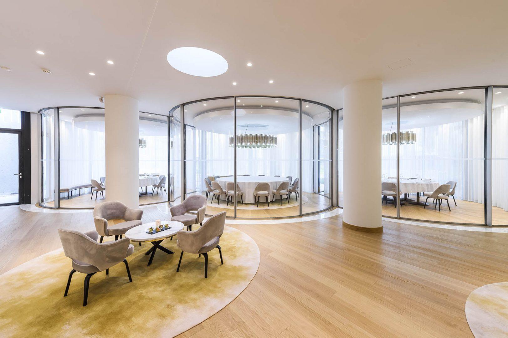 Sliding Minimalist Window | Vitrocsa project in Piaget VIP Room