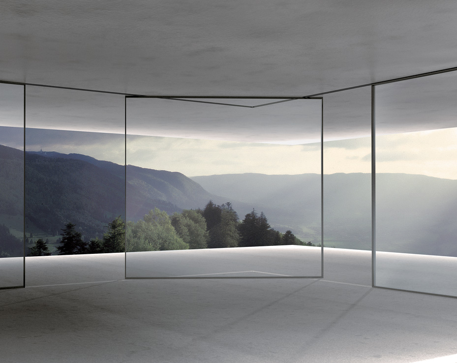 The Original Minimalist Window: Turnable Corner System by Vitrocsa